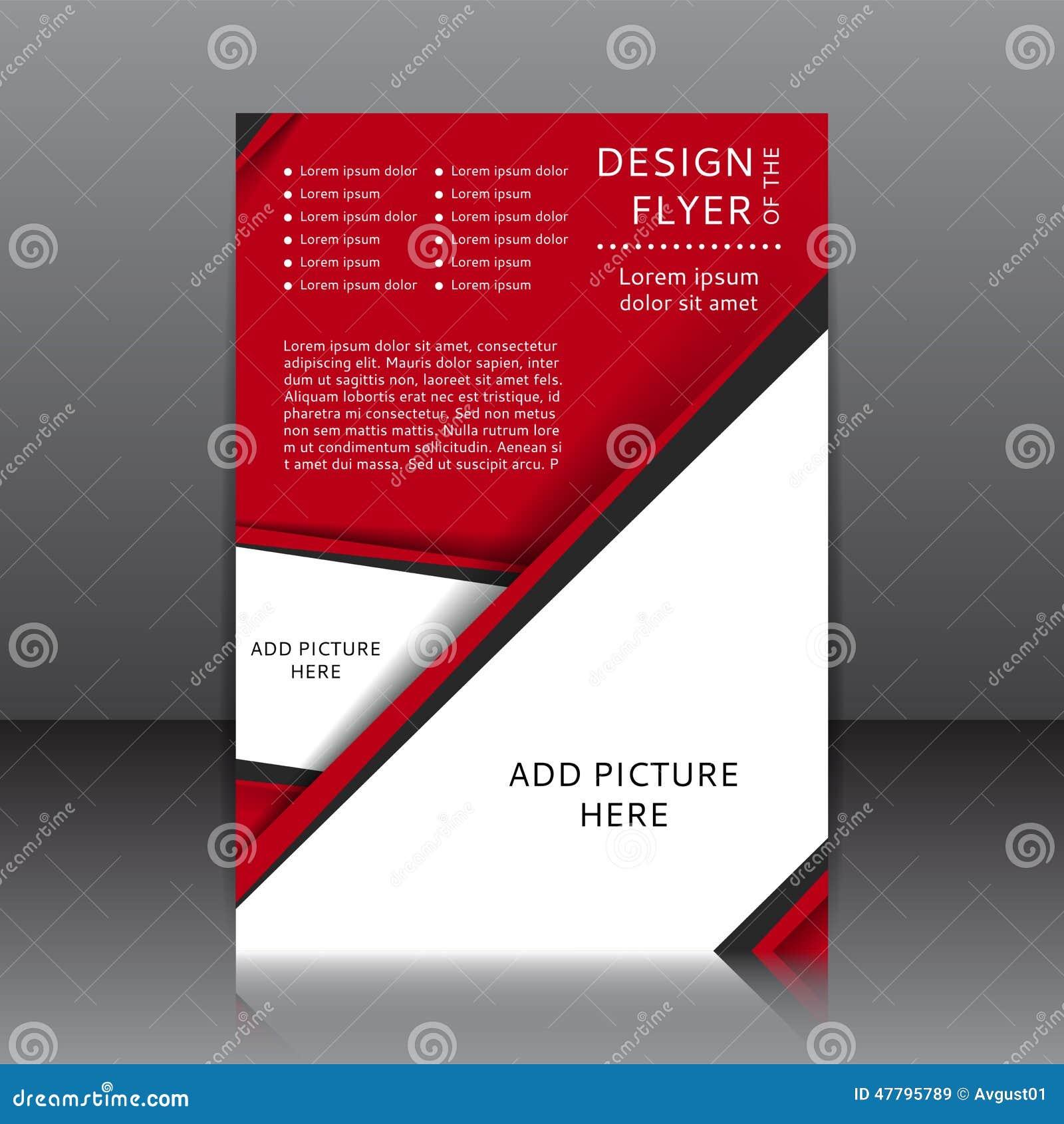 Dirigez la conception de l insecte rouge avec les éléments et les endroits noirs pour des images