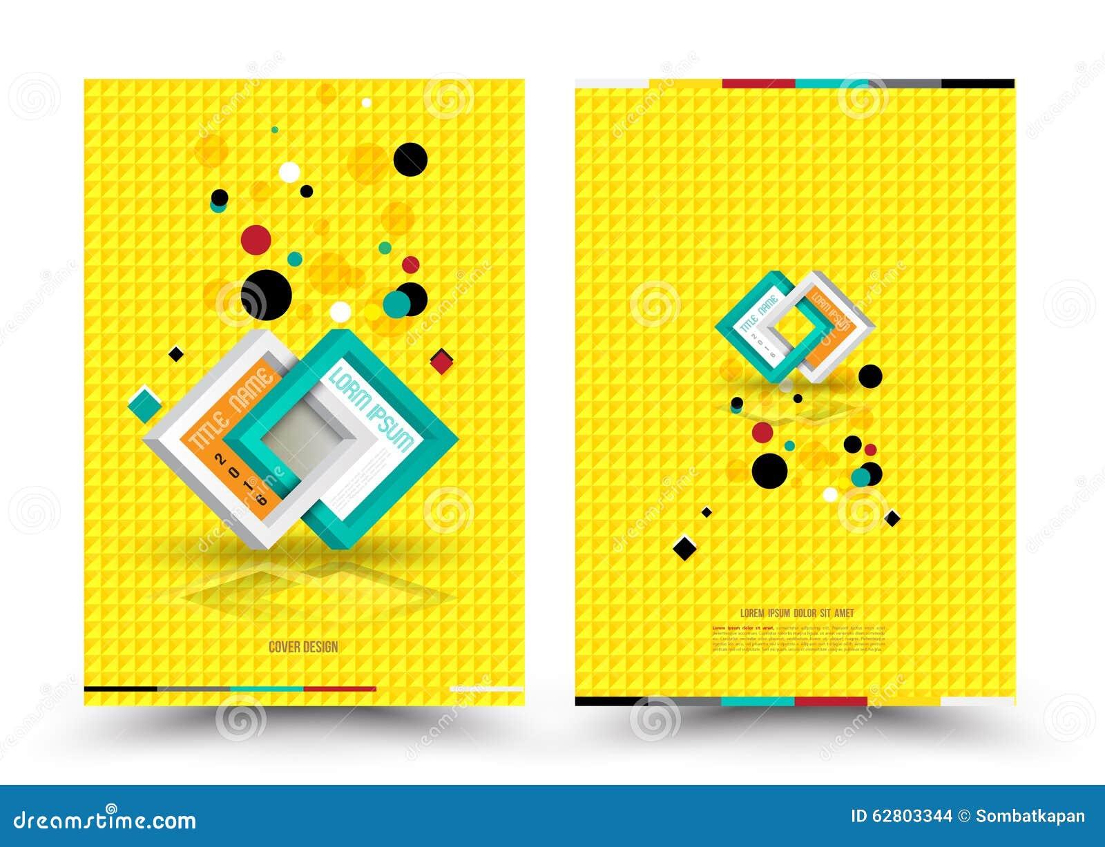 Dirigez le calibre de conception pour l affiche d insecte de brochure de rapport de couverture dans la taille A4