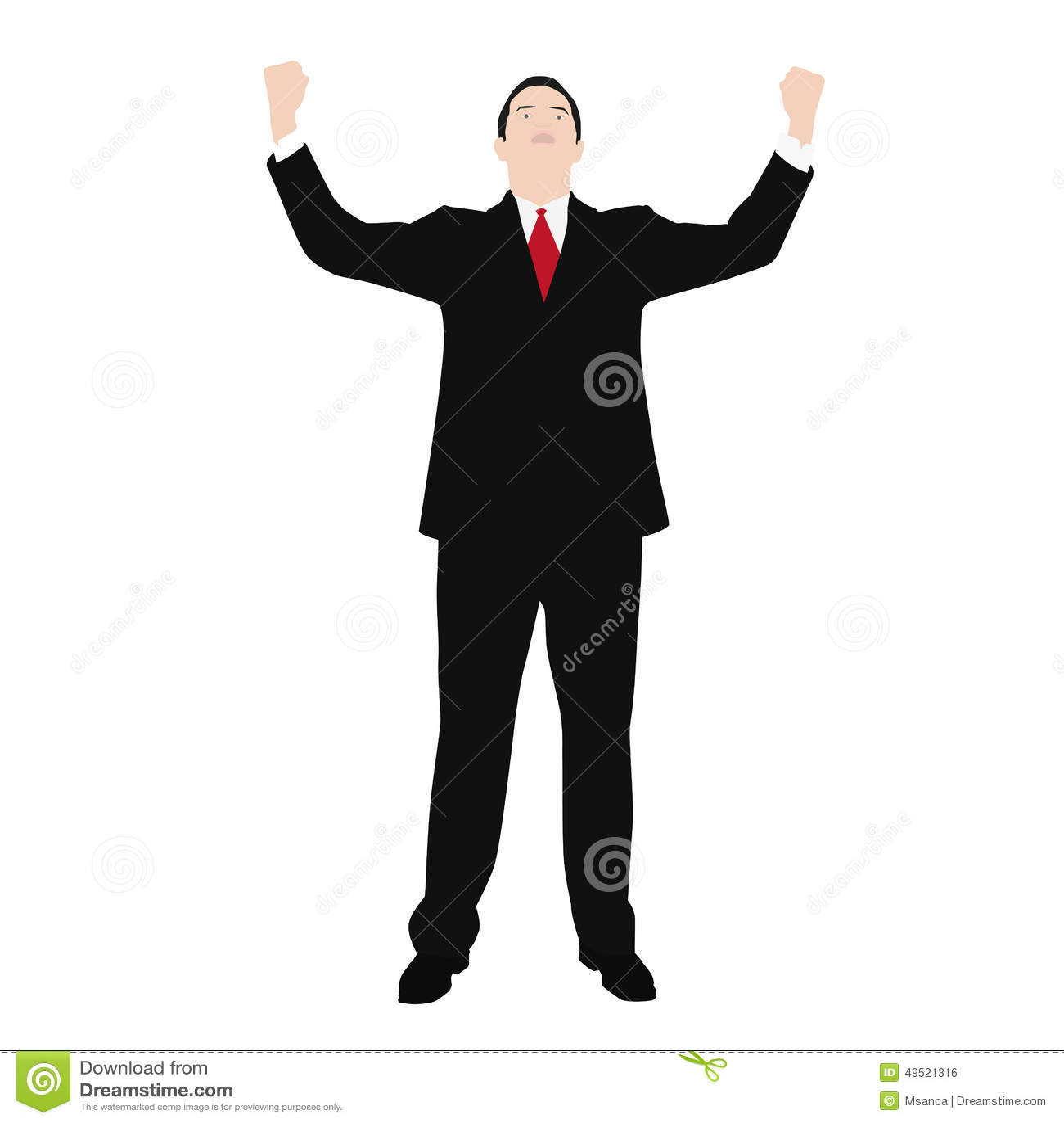 Dirigez le dessin d 39 un homme dans un costume illustration - Dessin costume ...