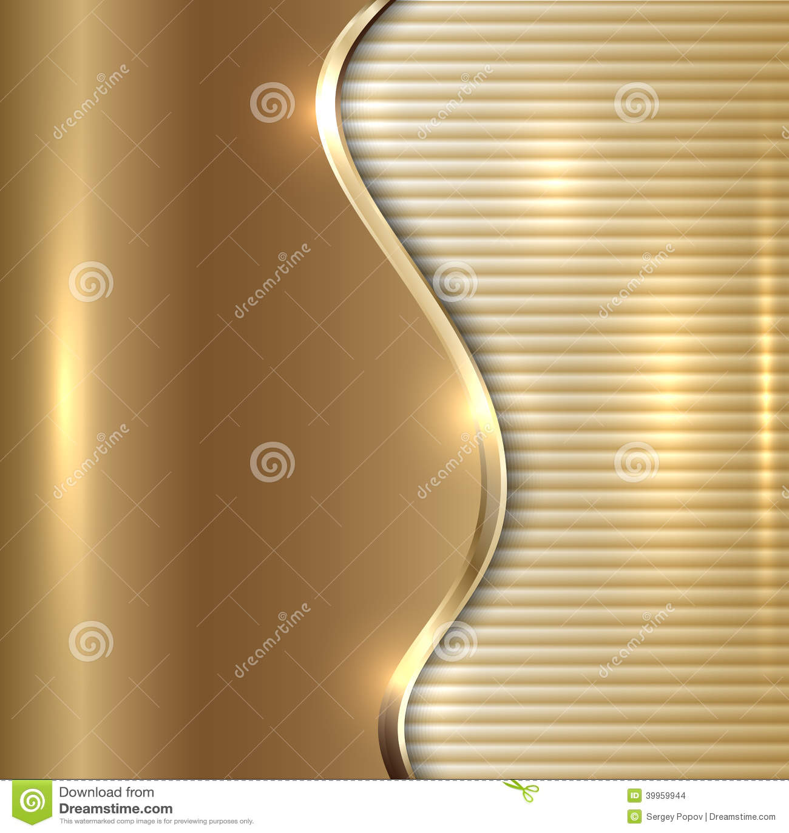 Dirigez le fond beige abstrait avec la courbe et les rayures