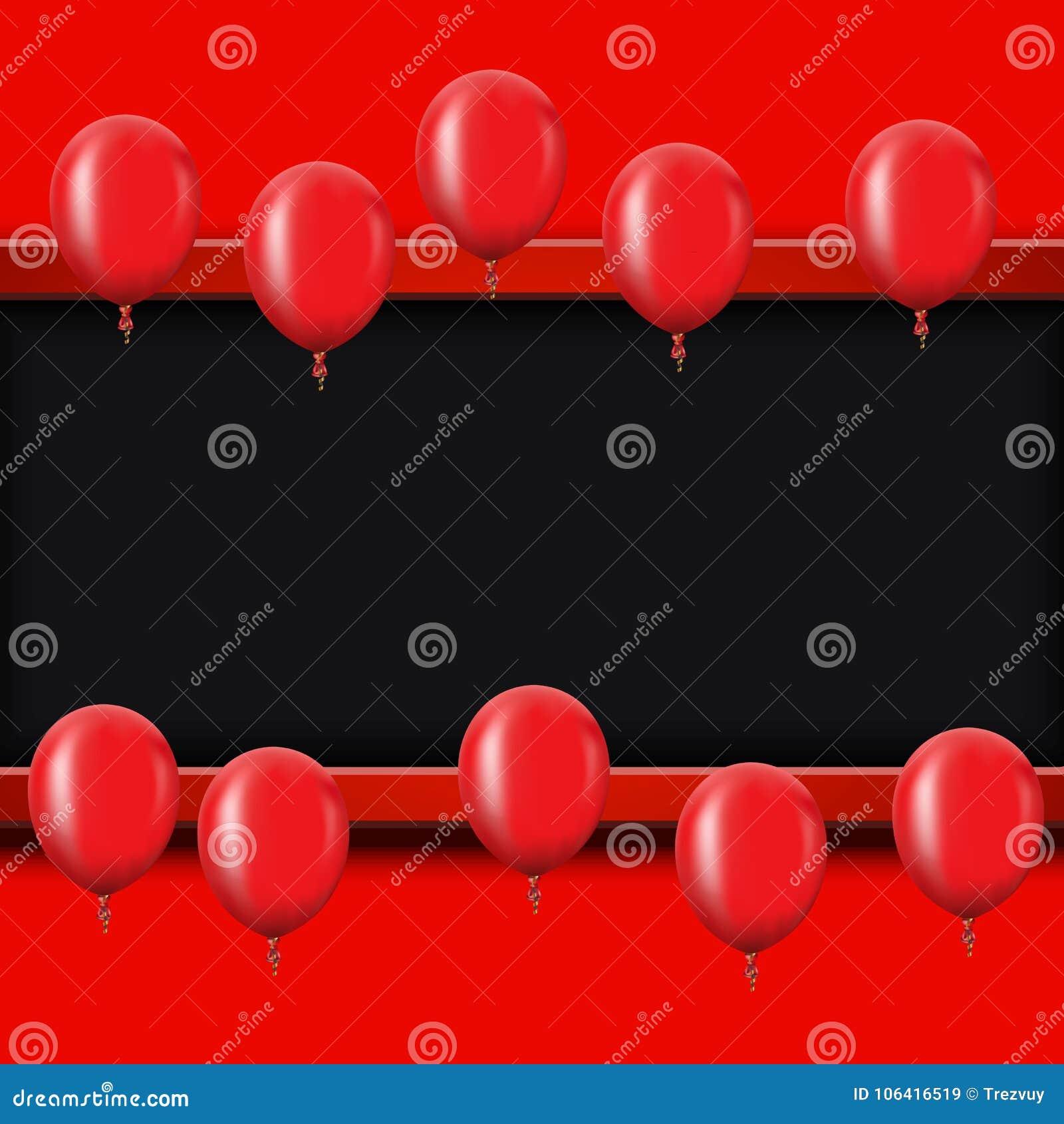 Dirigez Le Fond D Or Moderne De Ballons Pour Le Joyeux Anniversaire