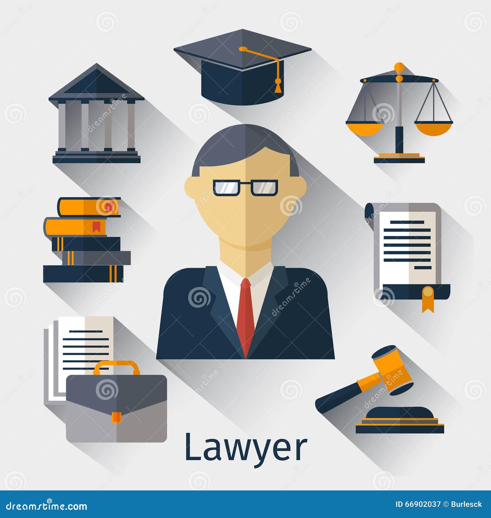 Dirigez le fond de concept d 39 avocat de mandataire ou de juriste illustration de vecteur image - Juriste cabinet d avocat ...