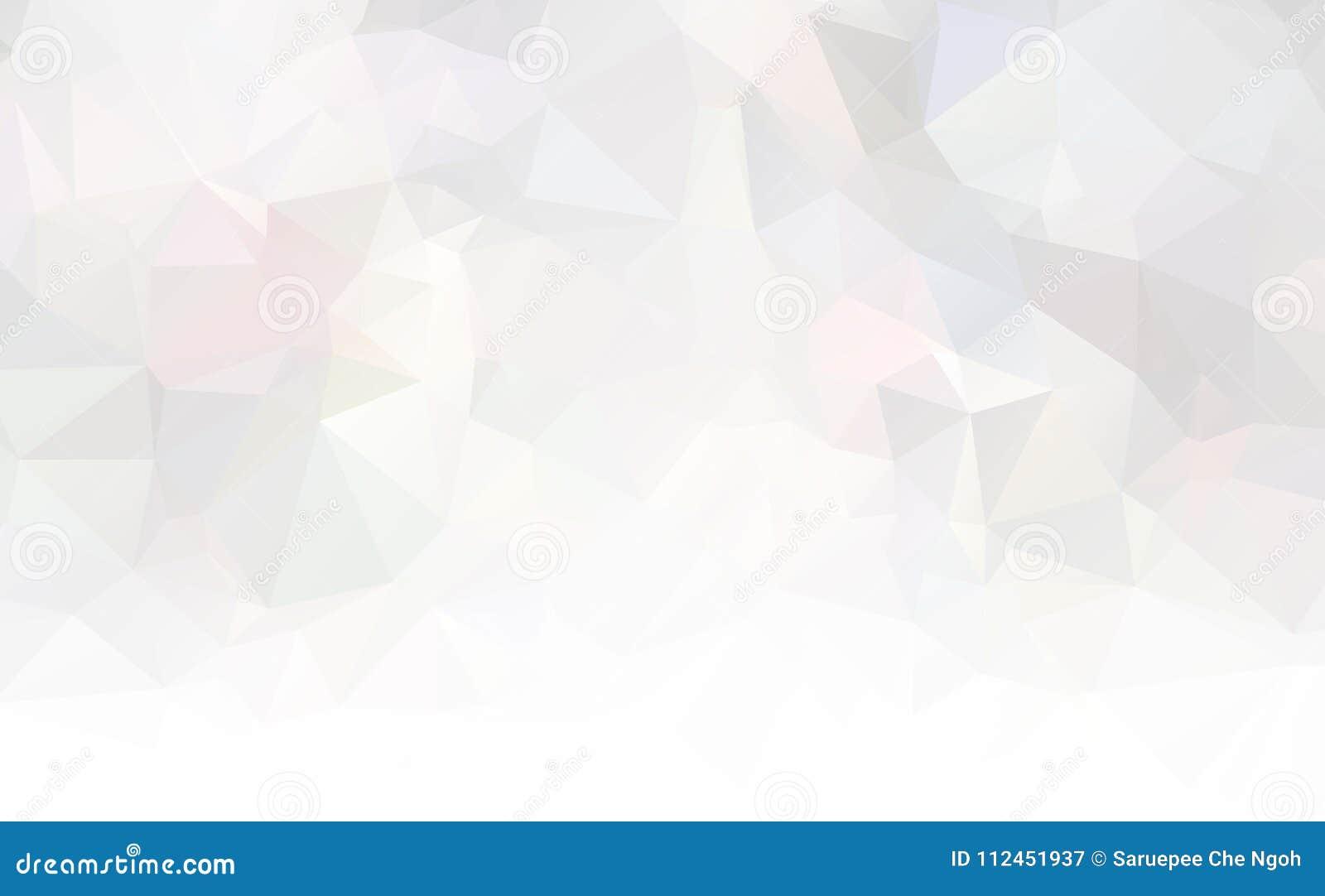 Dirigez le fond géométrique polygonal moderne abstrait de triangle de polygone