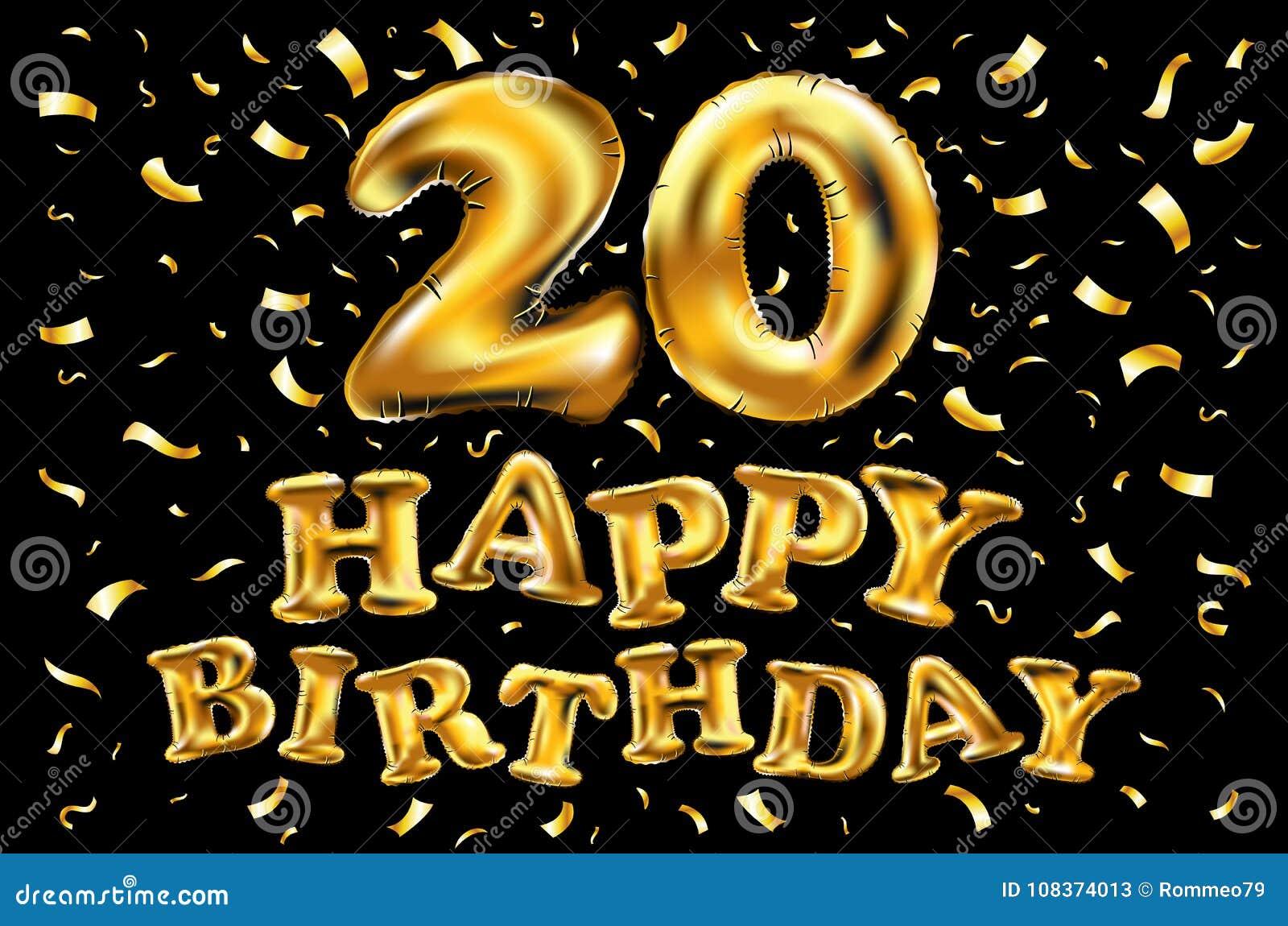 Dirigez Le Joyeux Anniversaire 20 Ans De Vingt Ballons D
