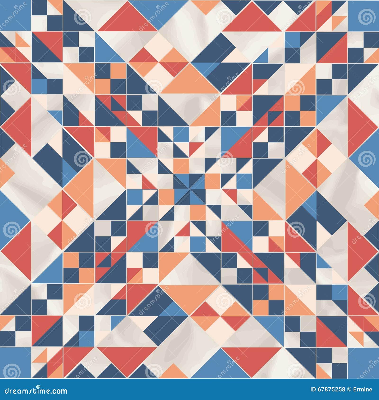 Dirigez le modèle géométrique avec des formes géométriques, losange