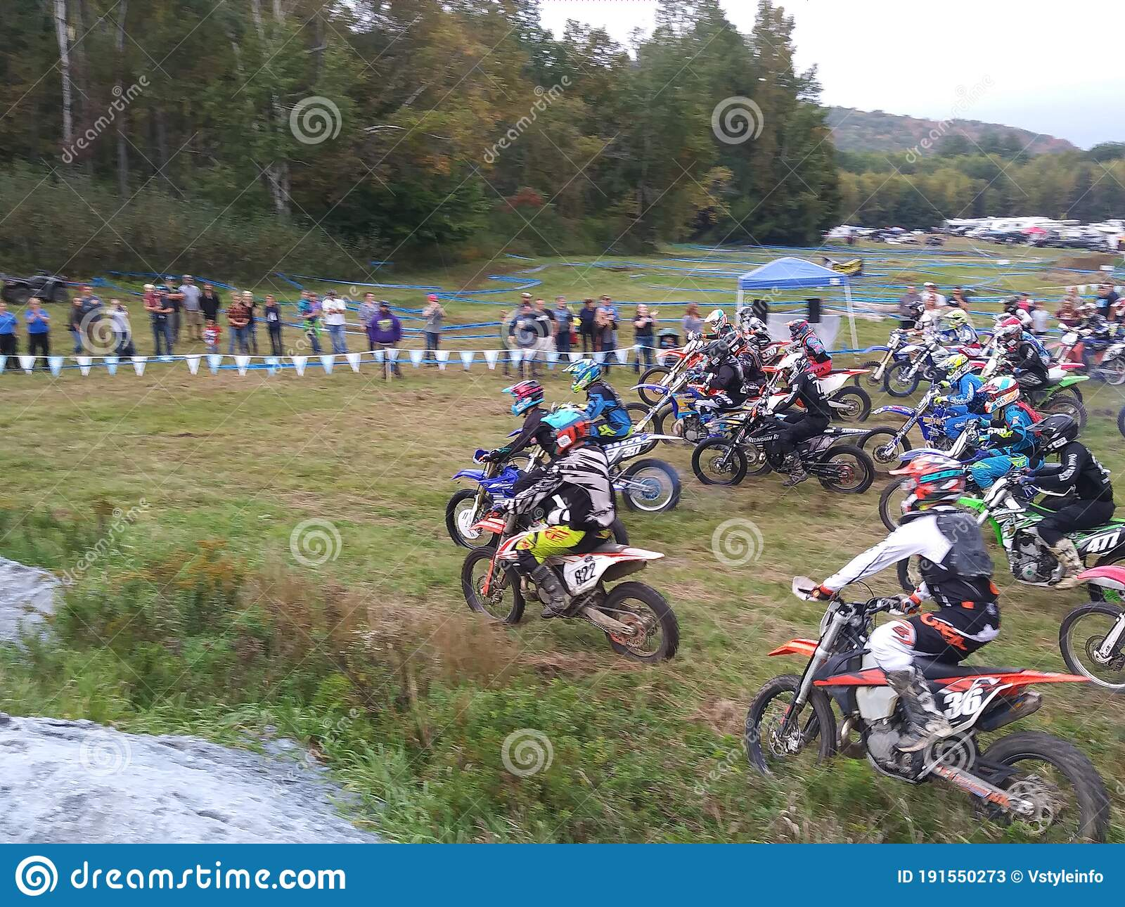 Dirt Bike Race Editorial Stock Photo Image Of Fifty 191550273