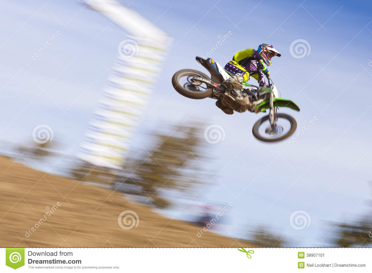 dirt bike racer jumping sierra motor cross race stead nevada march th th th high desert spring series 38907101 Motocross Racing Versus Automobile Racing