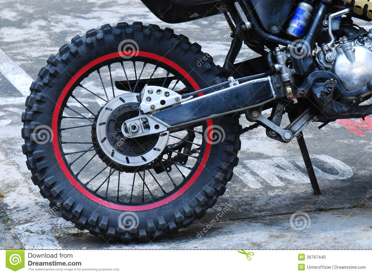 dirt bike wheel stock photo image of cross speed petrol. Black Bedroom Furniture Sets. Home Design Ideas