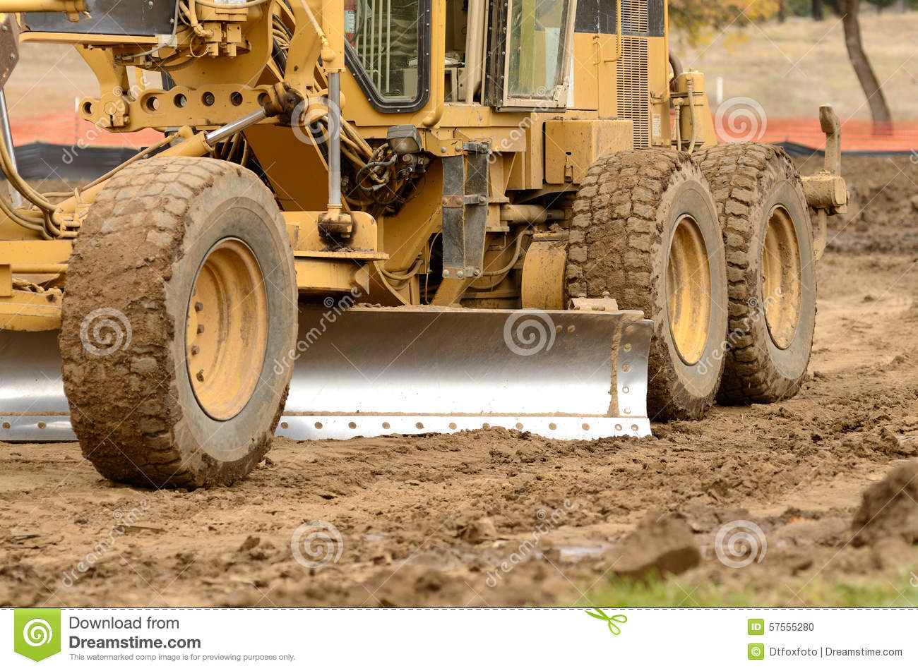 Dirt Movement stock photo  Image of road, earthmover - 57555280