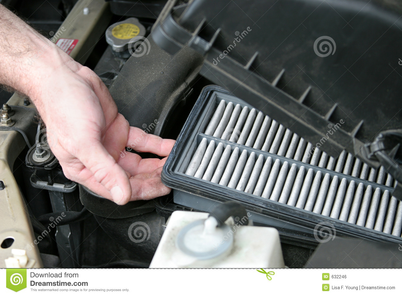 Nissan 46 Service >> Dirty Car Air Filter stock photo. Image of petrol, motor ...