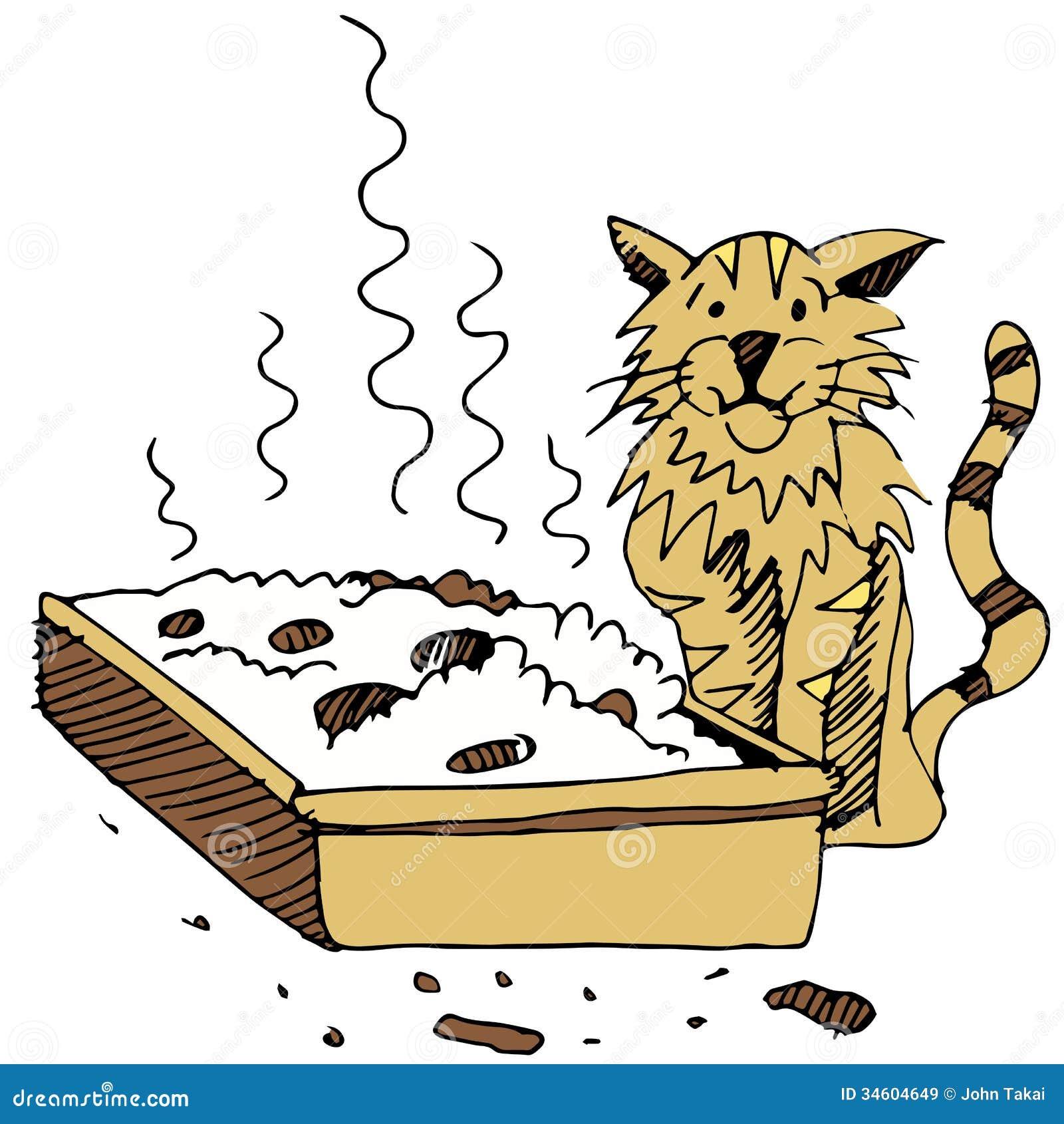 Cat Litter Box Gif
