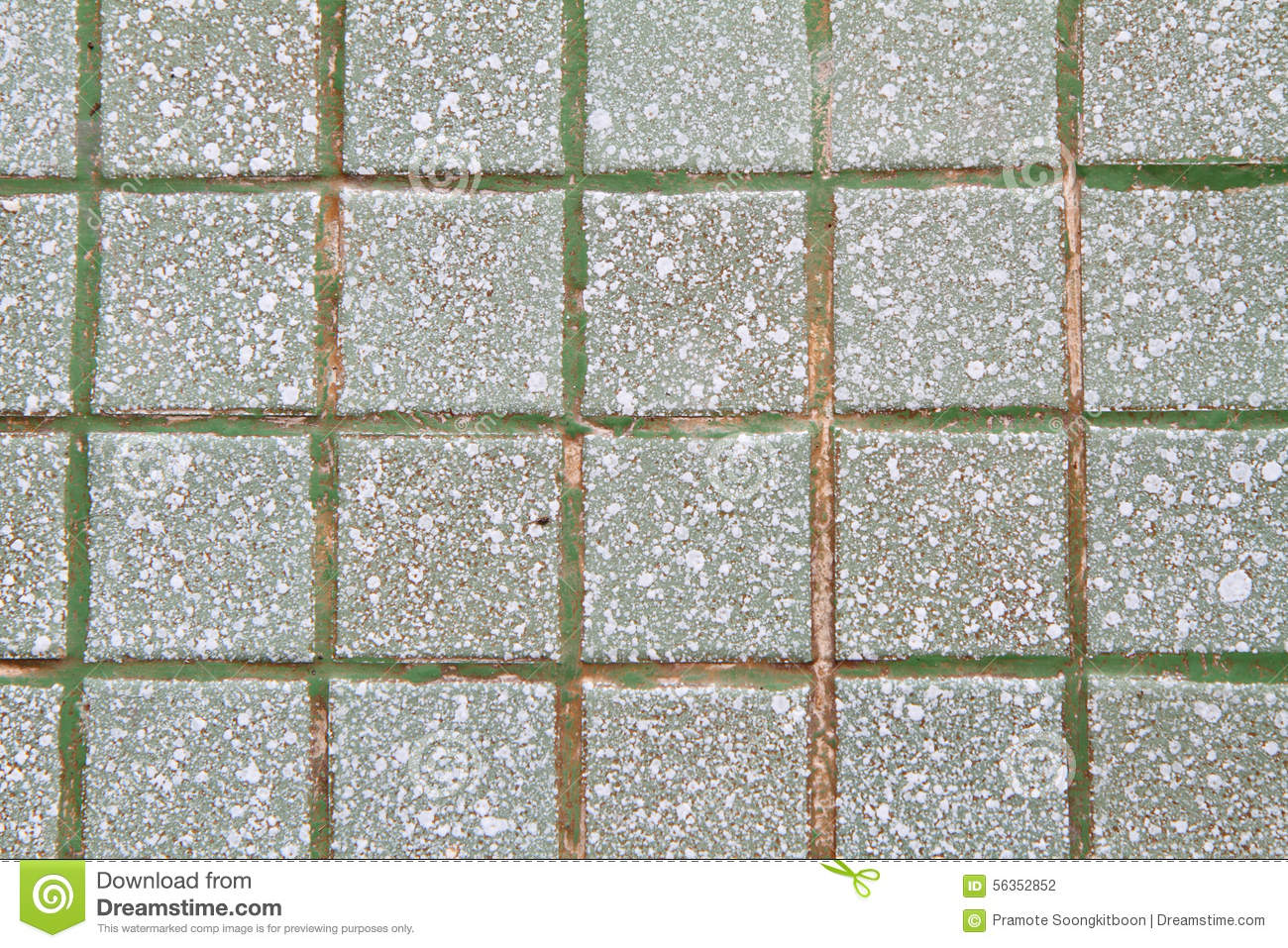 Dirty concrete block floor at the street walk stock photo for Concrete block floor