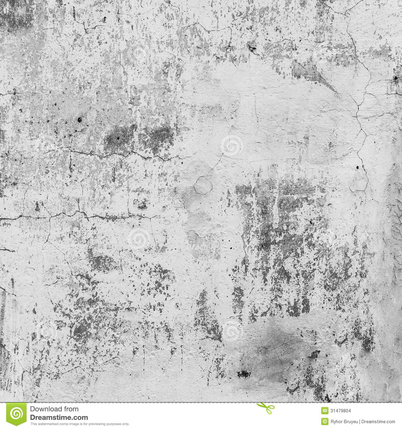 Dirty Gray Wall Pattern Stock Images - Image: 31479804