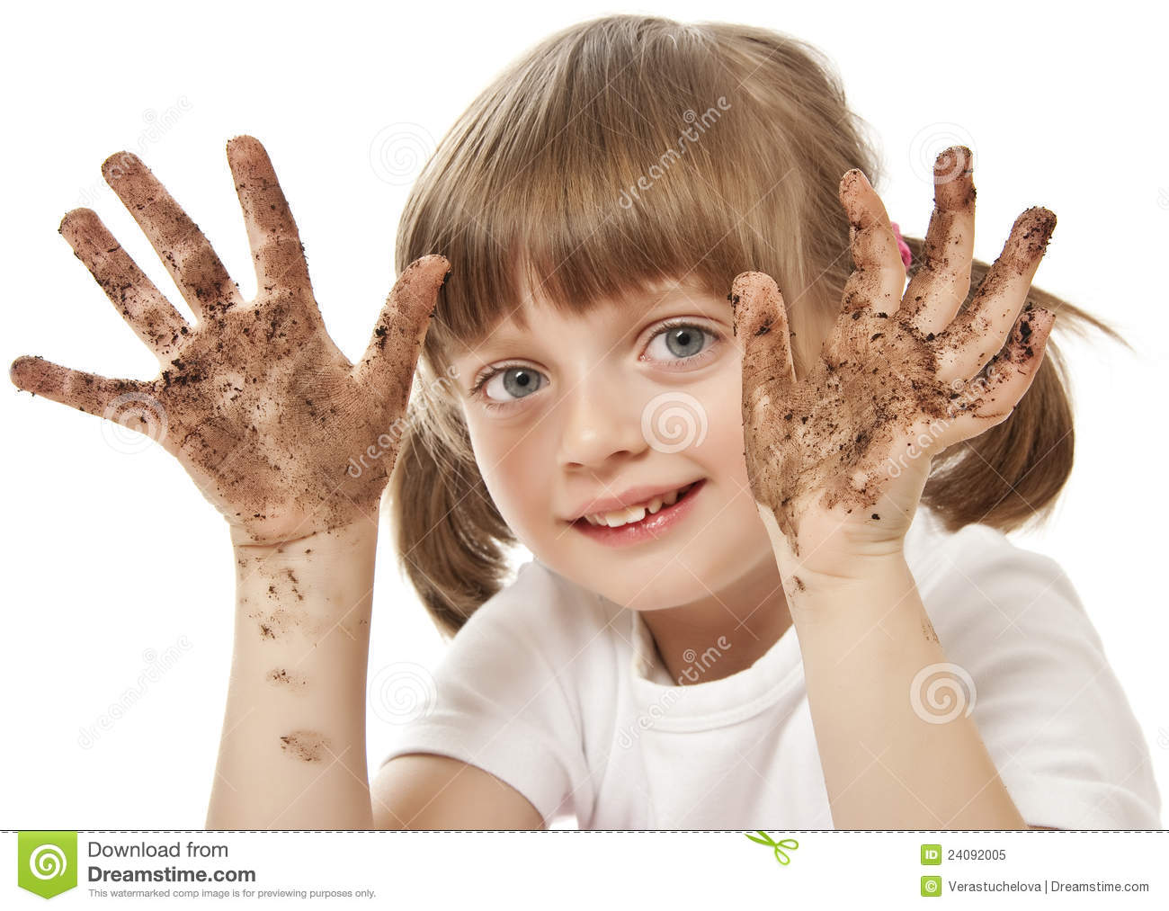 Dirty Hand Royalty Free Stock Photo - Image: 24092005