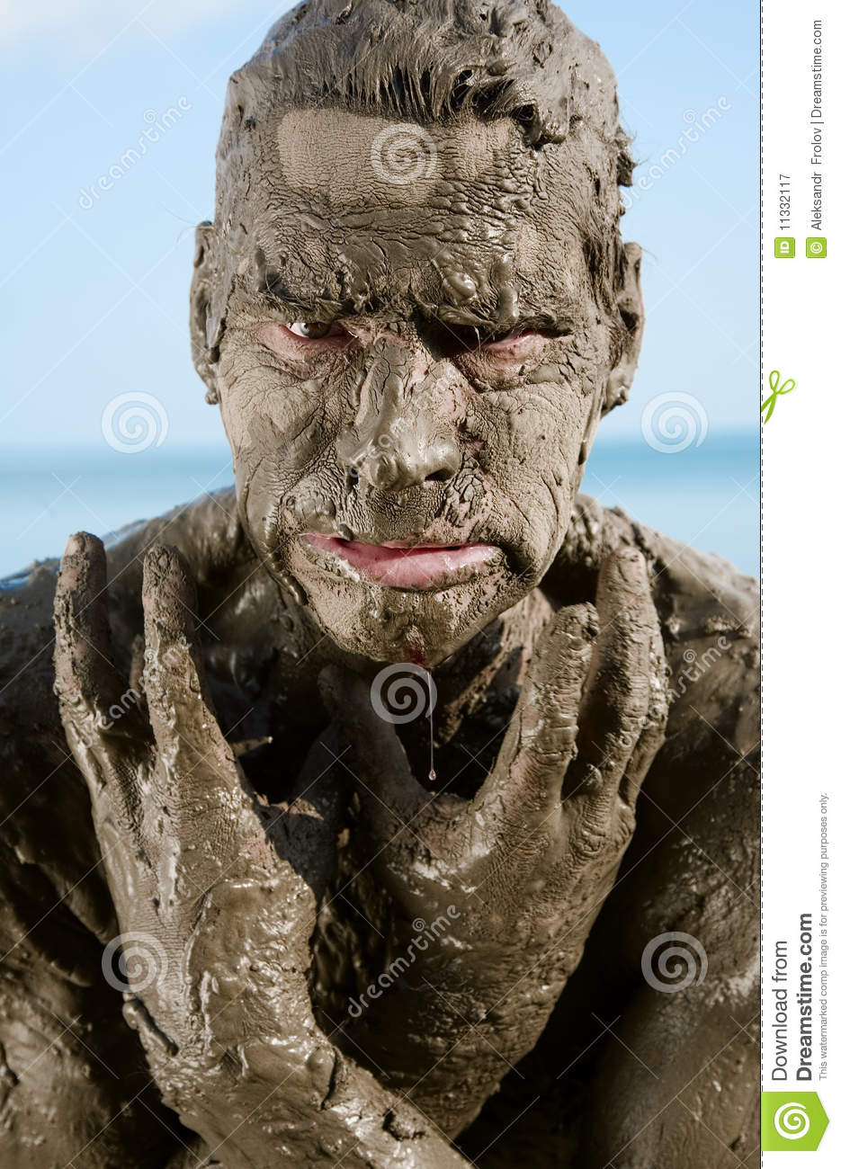 Dirty man royalty free stock photography image 11332117