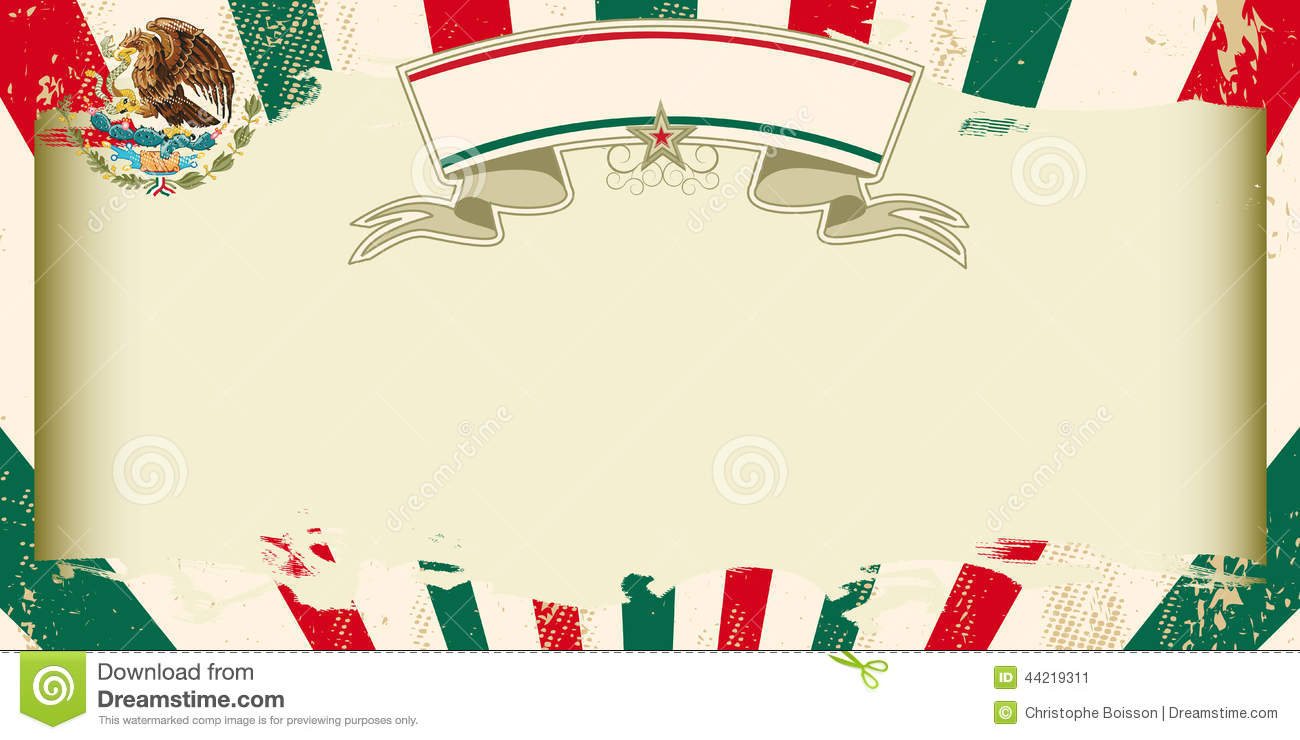 Dirty Mexican Grunge Invitation Stock Vector - Illustration of ...