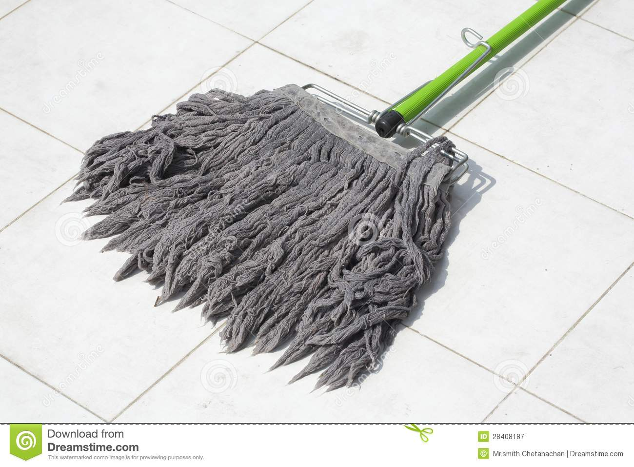 Dirty Mop Royalty Free Stock Photography - Image: 28408187