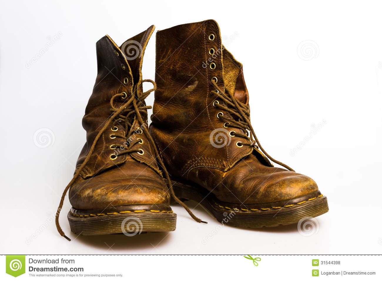 Pump It Up Prices >> Dirty old brown boots stock photo. Image of elegance ...