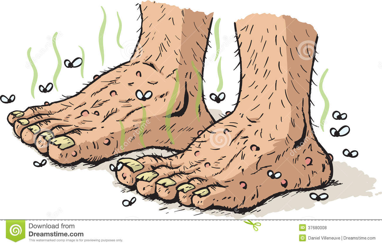 how to fix really smelly feet