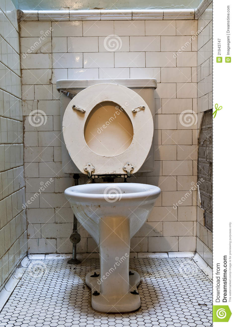 Dirty Old Toilet Stock Image Image Of Grunge Water