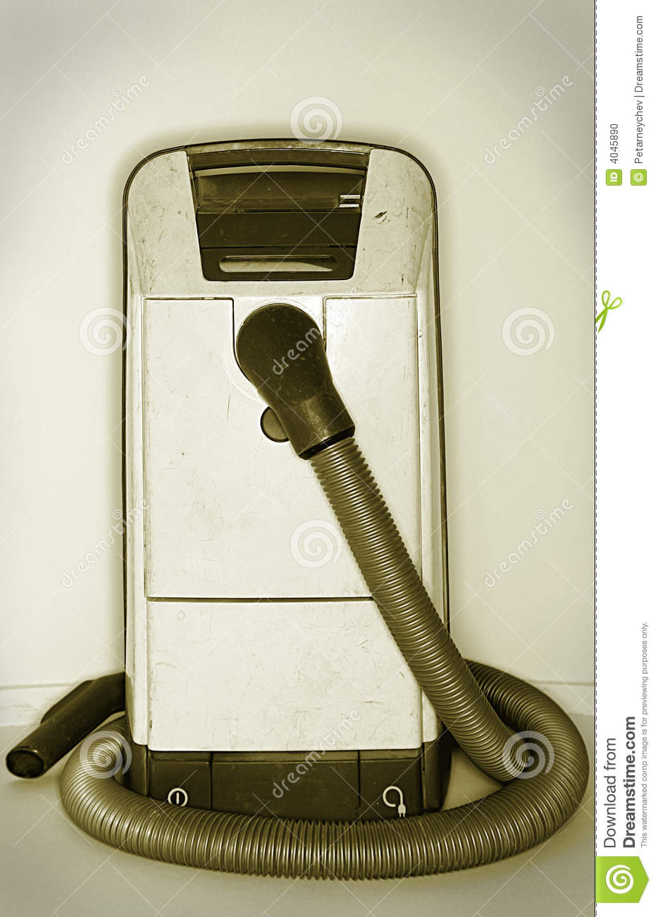 Dirty Old Vacuum Cleaner Stock Photo Image 4045890