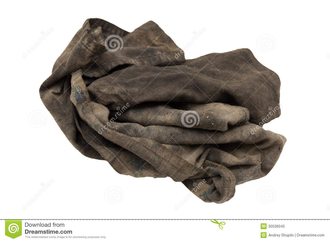 d6083af36ce4d Dirty rag stock image. Image of product, isolated, clean - 30536045