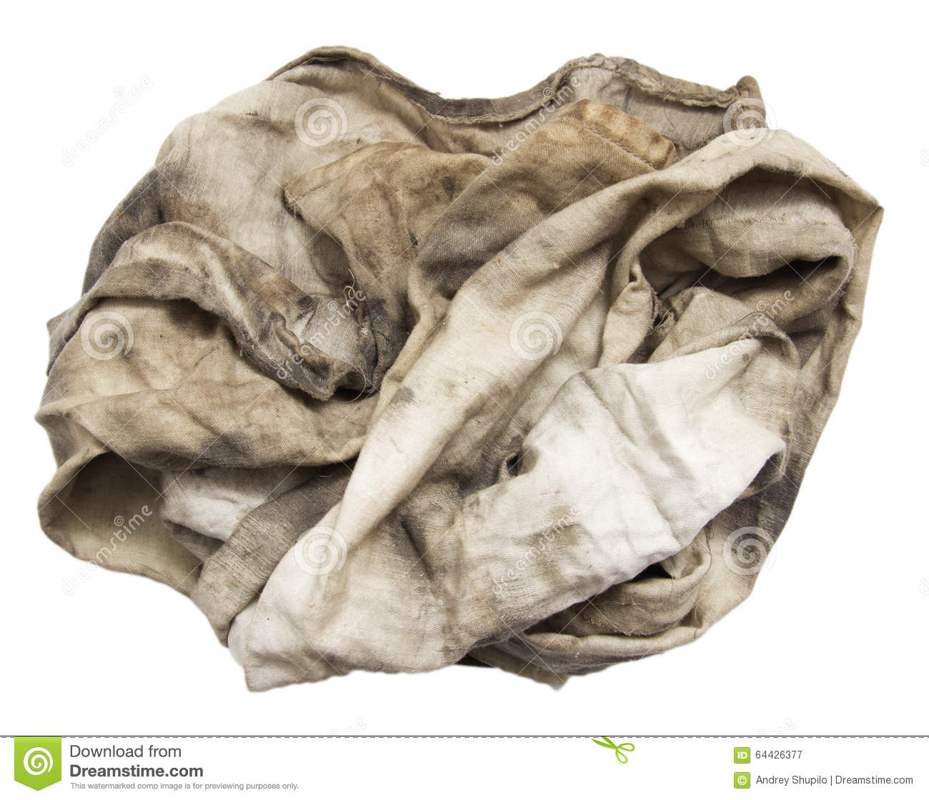 d5793d7318 Dirty rag stock image. Image of hygiene, clean, material - 64426377