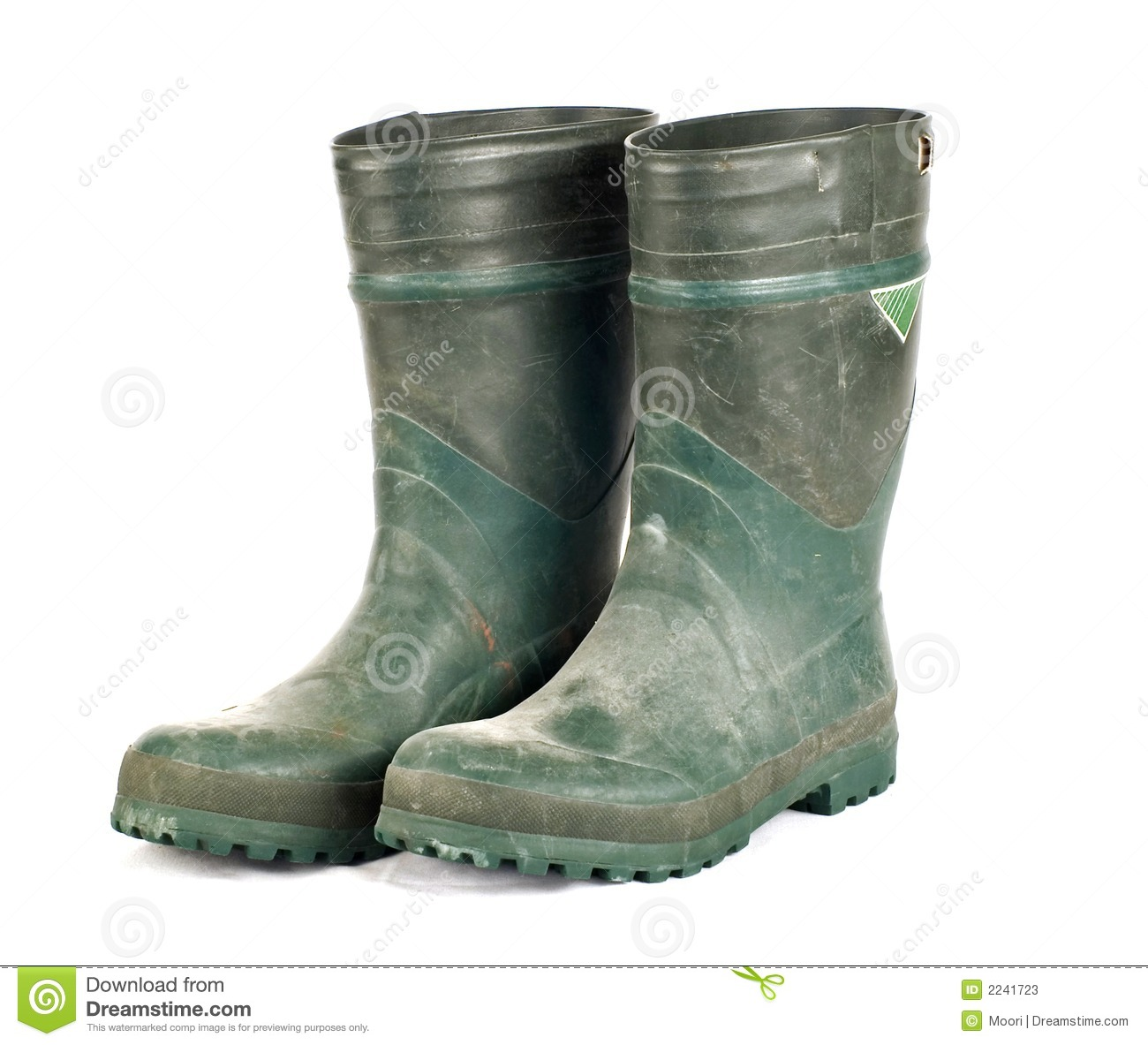 Dirty Rubber Work Boots Stock Image Image Of Rubber Muck