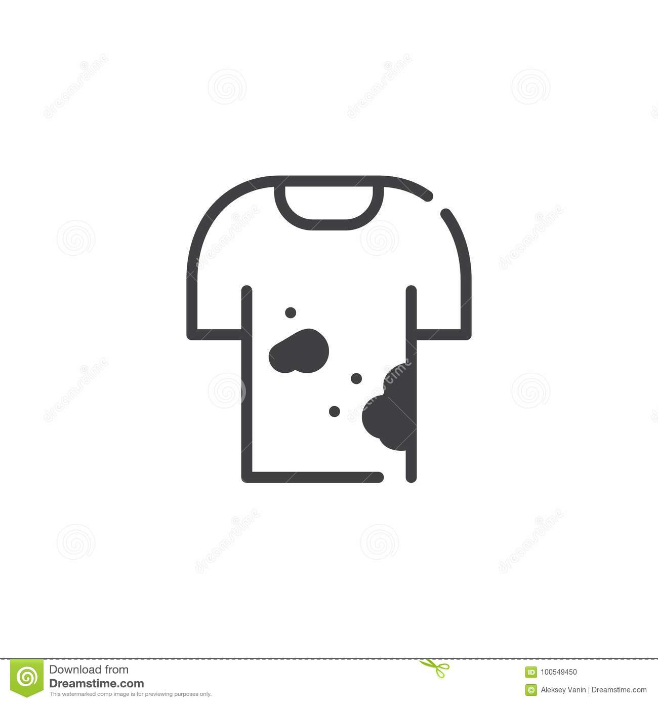 icon shirt stock illustrations 144 571 icon shirt stock illustrations vectors clipart dreamstime https www dreamstime com dirty shirt icon vector filled flat sign solid pictogram isolated white symbol logo illustration image100549450