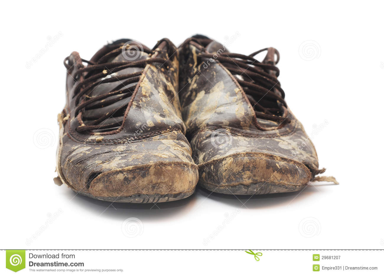Dirty Shoes Royalty Free Stock Photography Image 29681207