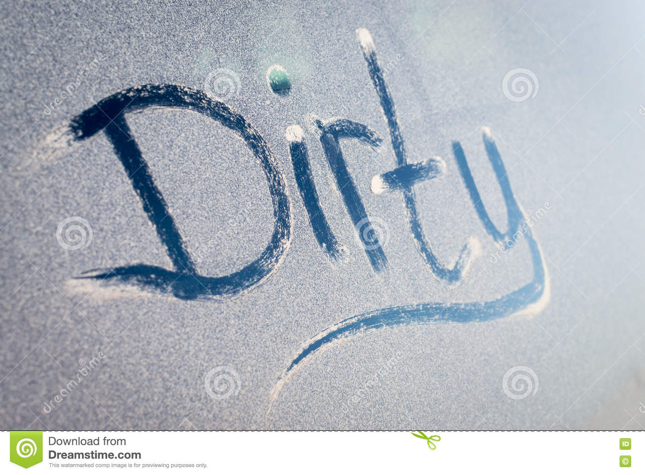 Dirty text on a grubby dust covered window stock photo image of royalty free stock photo biocorpaavc Choice Image