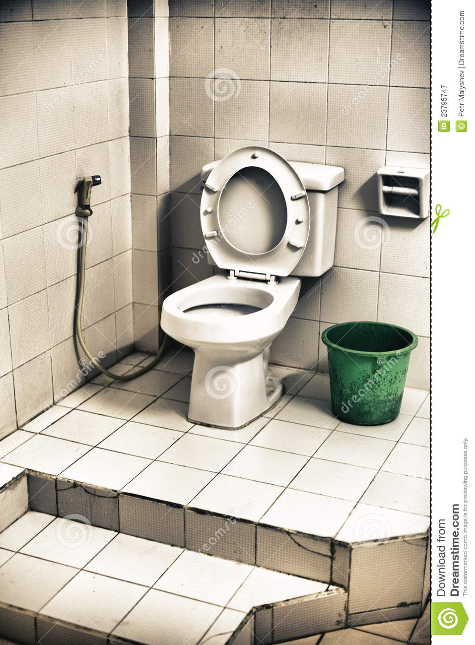 Dirty Toilet Royalty Free Stock Photography Image 23795747