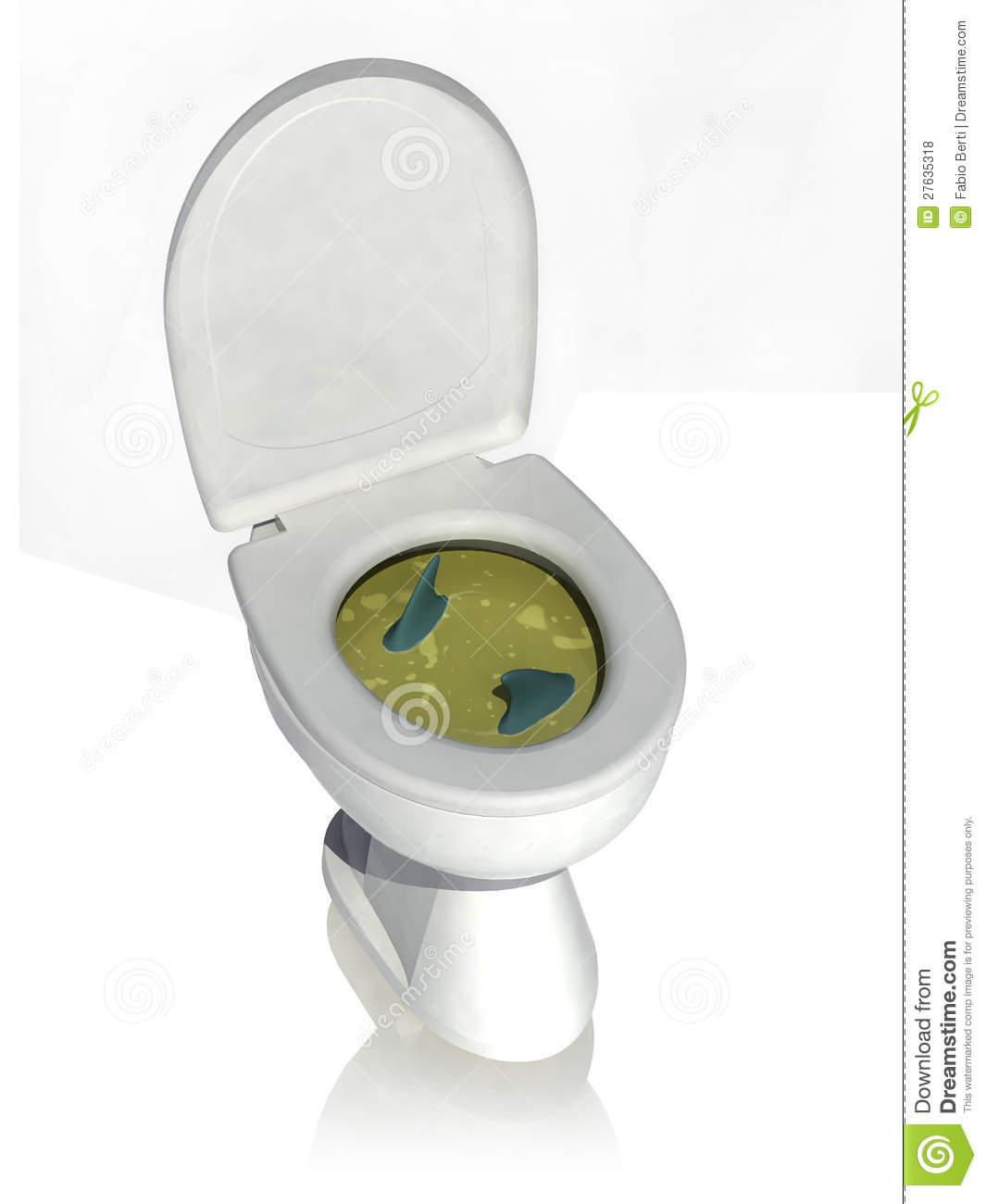 Dirty Toilet Royalty Free Stock Photos - Image: 27635318