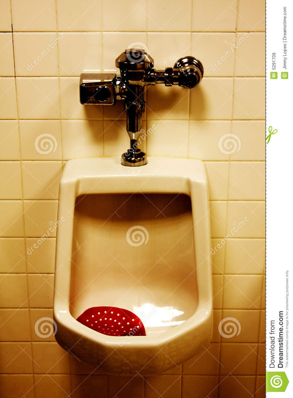 Dirty Urinal In Mens Room Royalty Free Stock Images