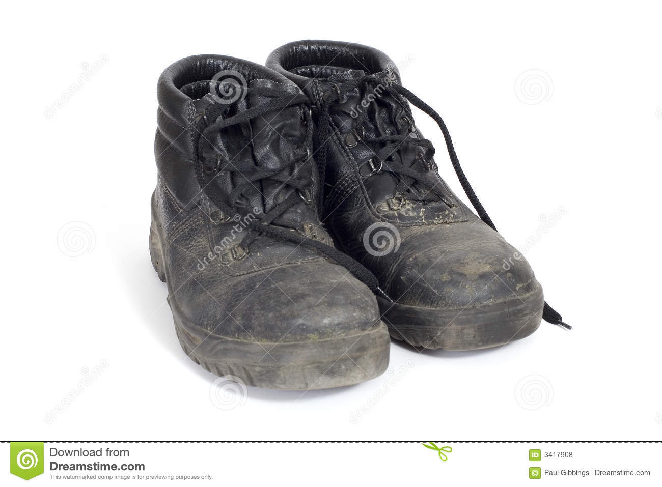 dirty work boots stock photo  image of industrious  labour