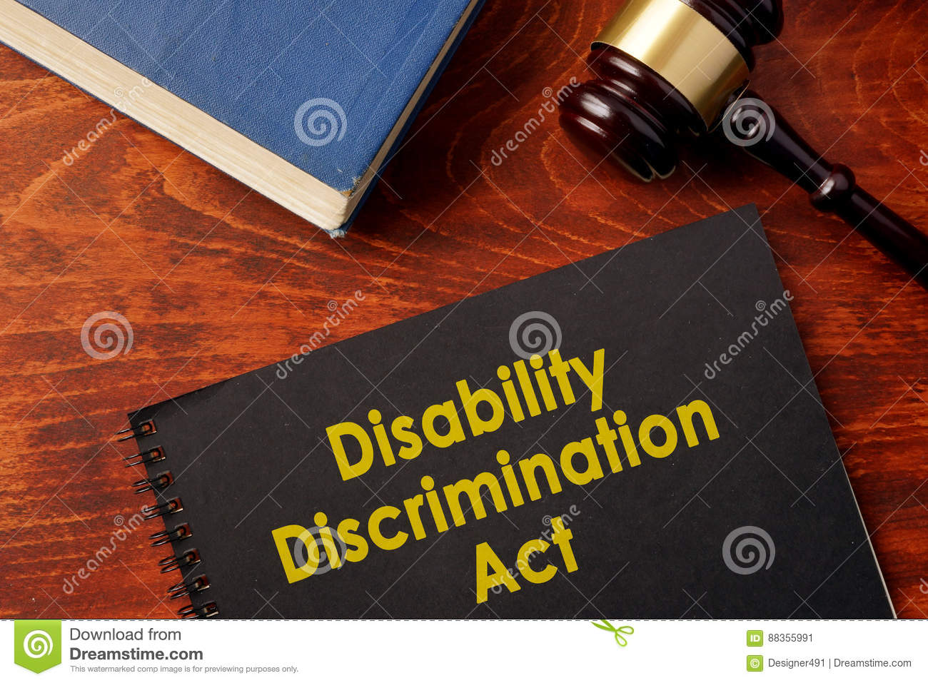 Disability Discrimination Act DDA.