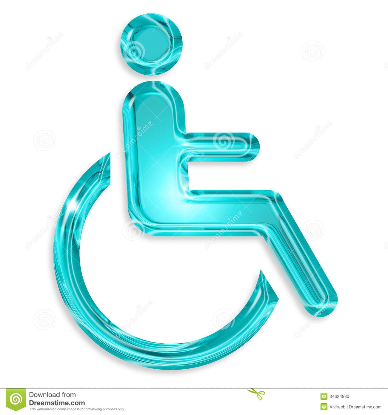 Disability Symbol Stock Photo Image 34624830