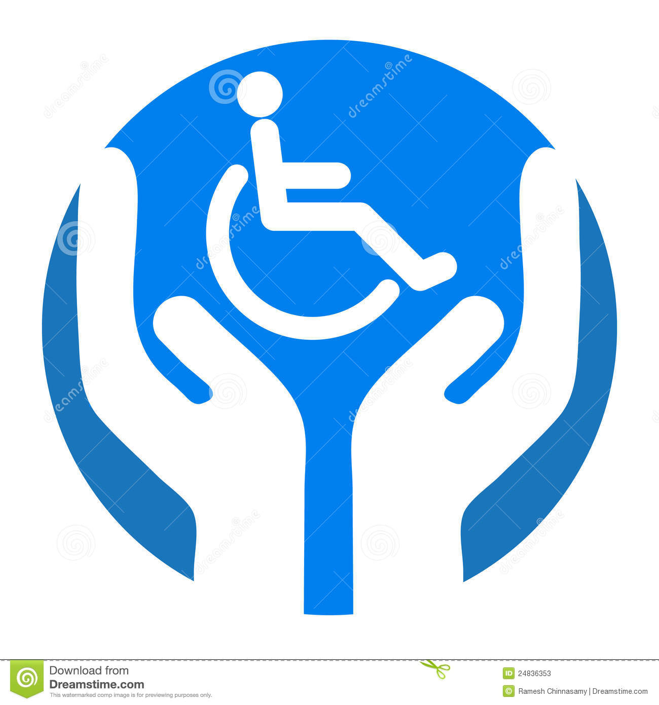 Disable Care Stock Photos Image 24836353