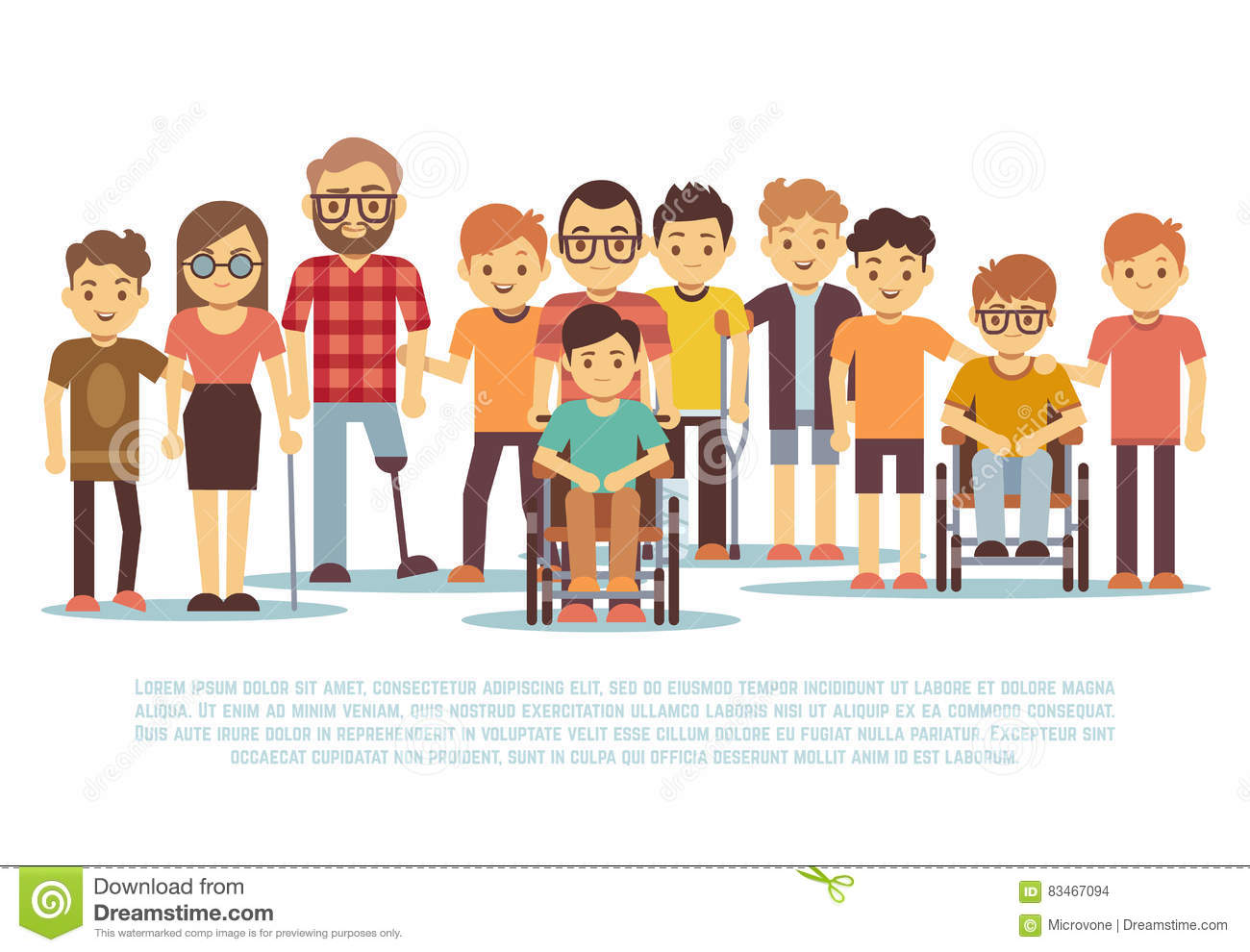 Handicapped Cartoons, Illustrations & Vector Stock Images ...