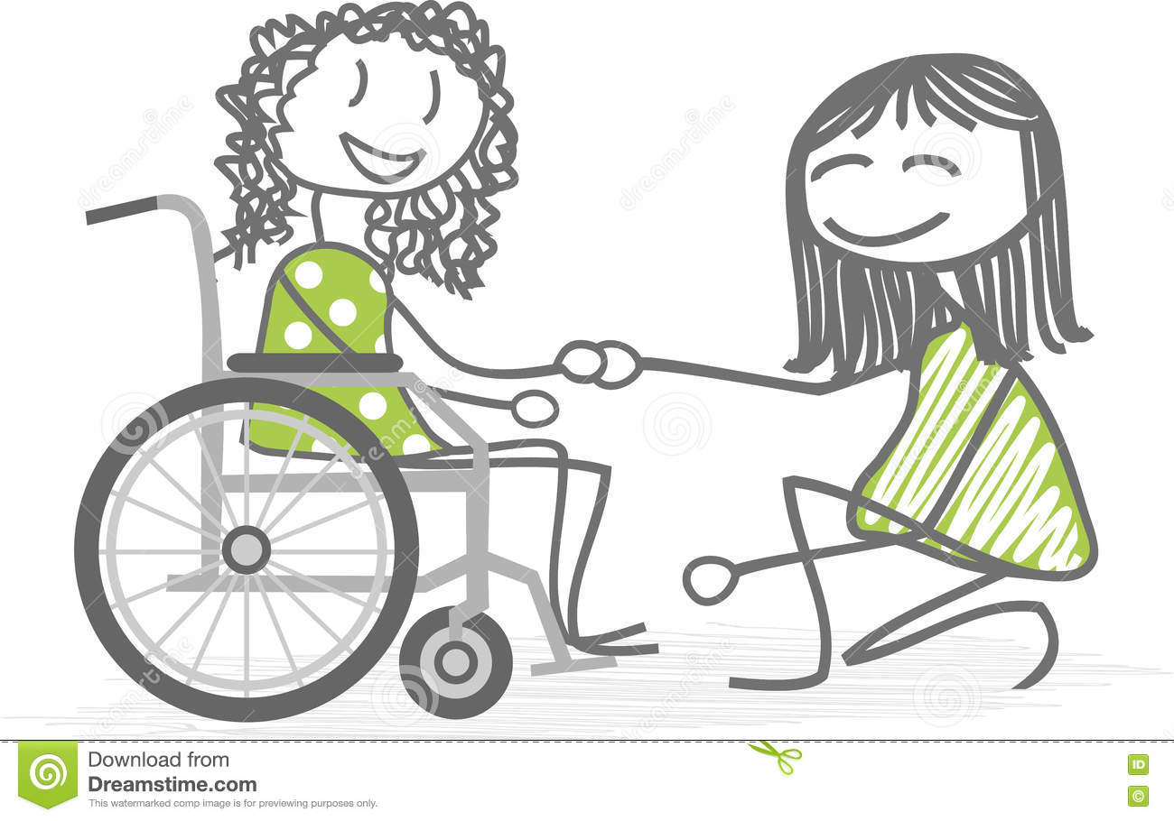 Disabled People Stock Vector Illustration Of Accessibility