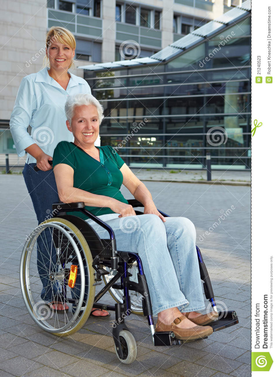disabled senior woman with extended stock photos image