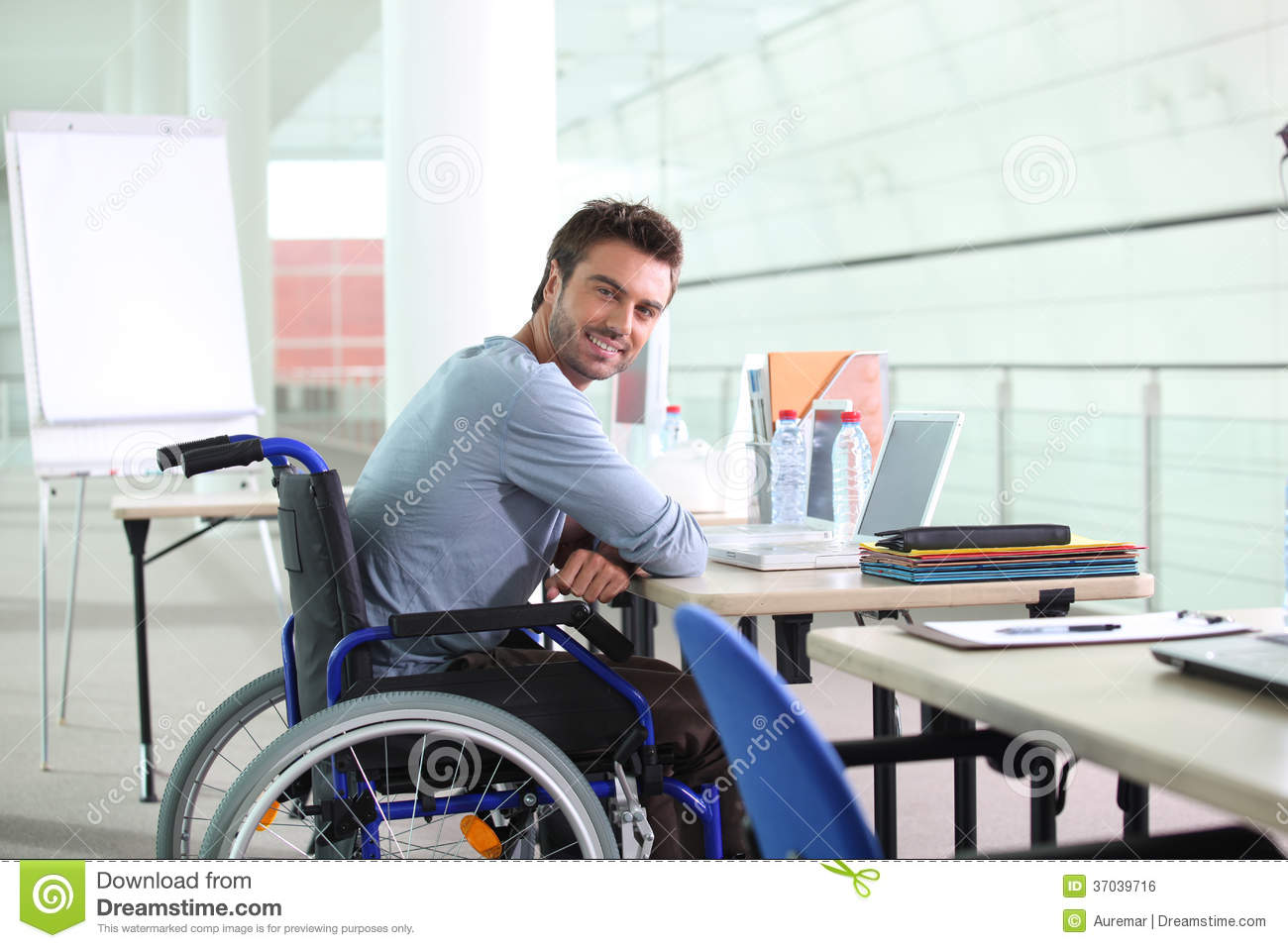 Disabled Worker Royalty Free Stock Image Image 37039716