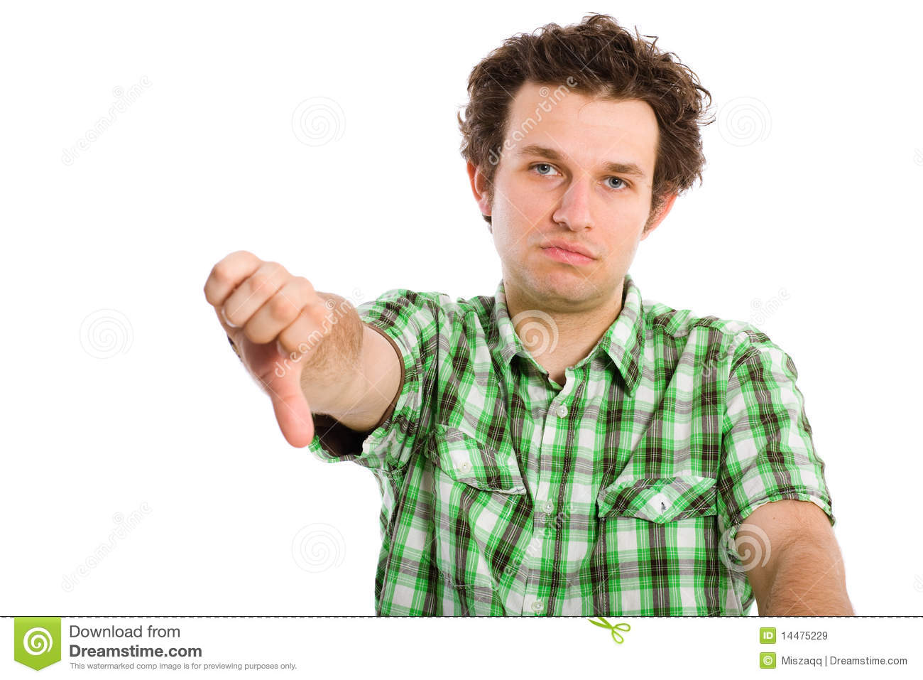 Disappointed And Unsuccesful Young Adult Stock Image ...