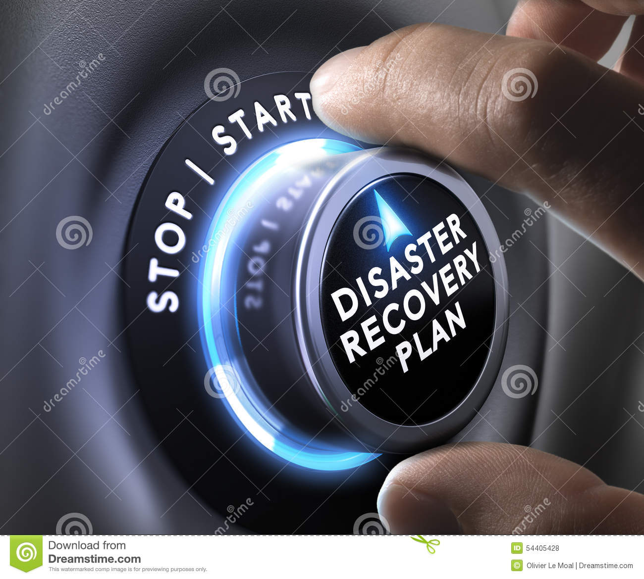 Disaster Recovery Plan Drp Stock Photo Image 54405428
