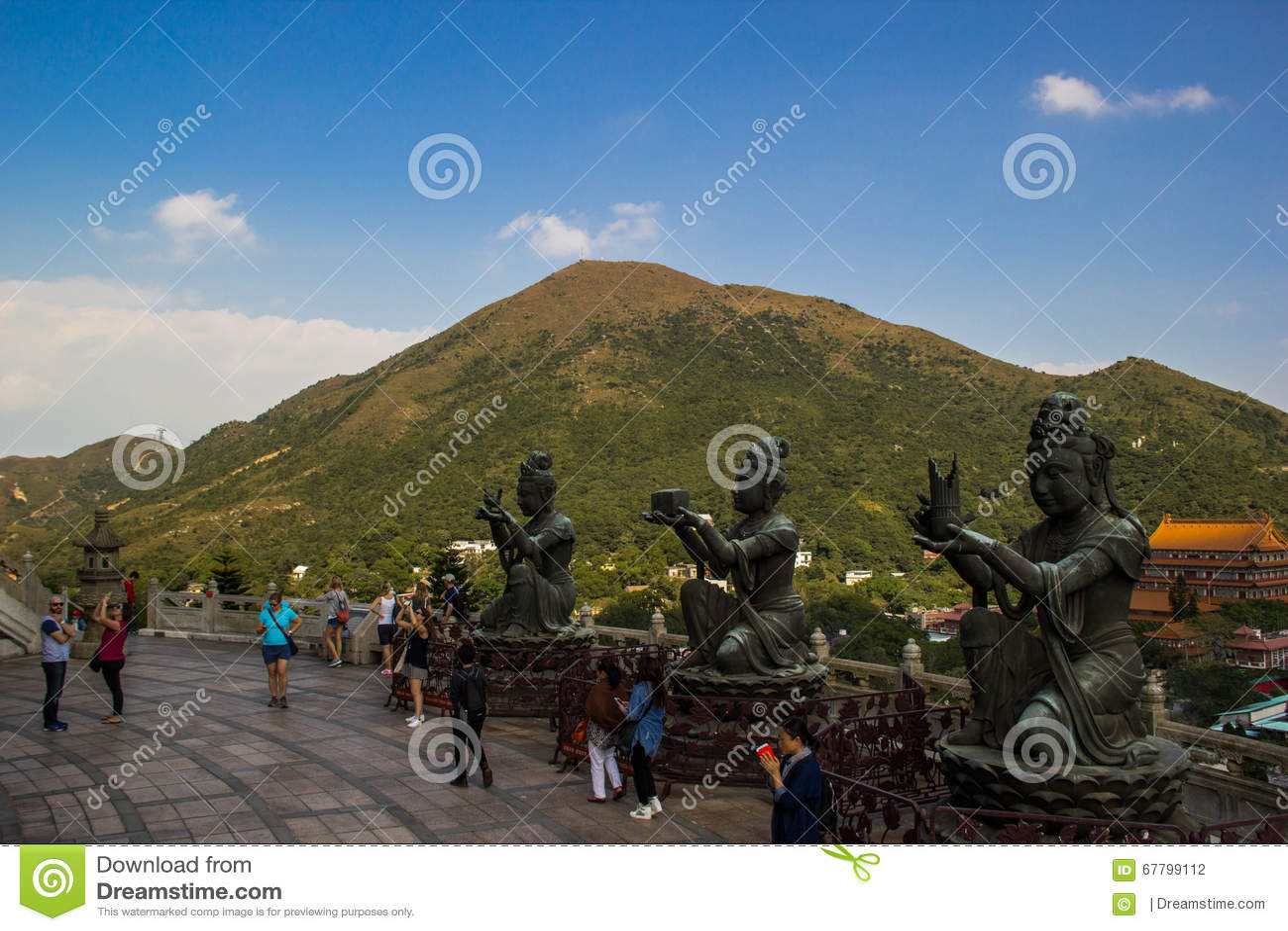 Discípulo de Buda grande