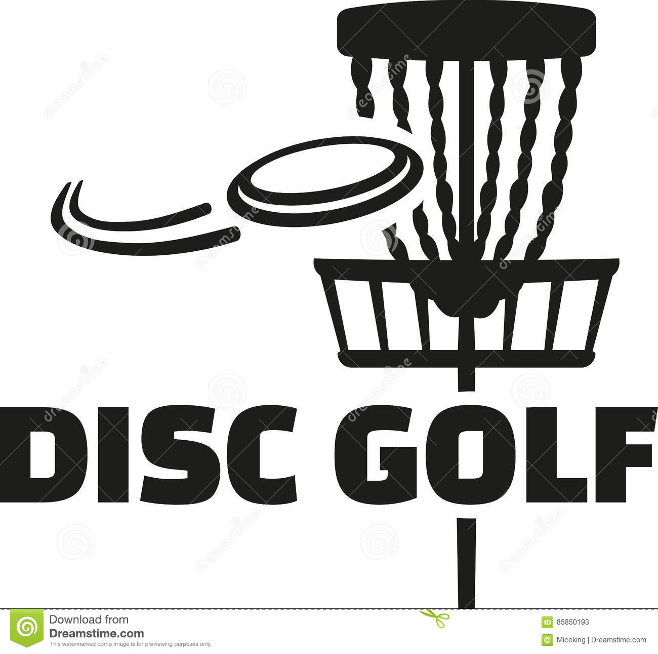 Golf Silhouette Logos Clipart Vector Design