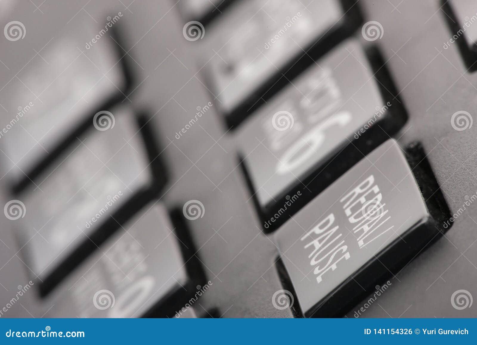 Discando o conceito do teclado do telefone para uma comunicação, contacte nos e o apoio de serviço ao cliente