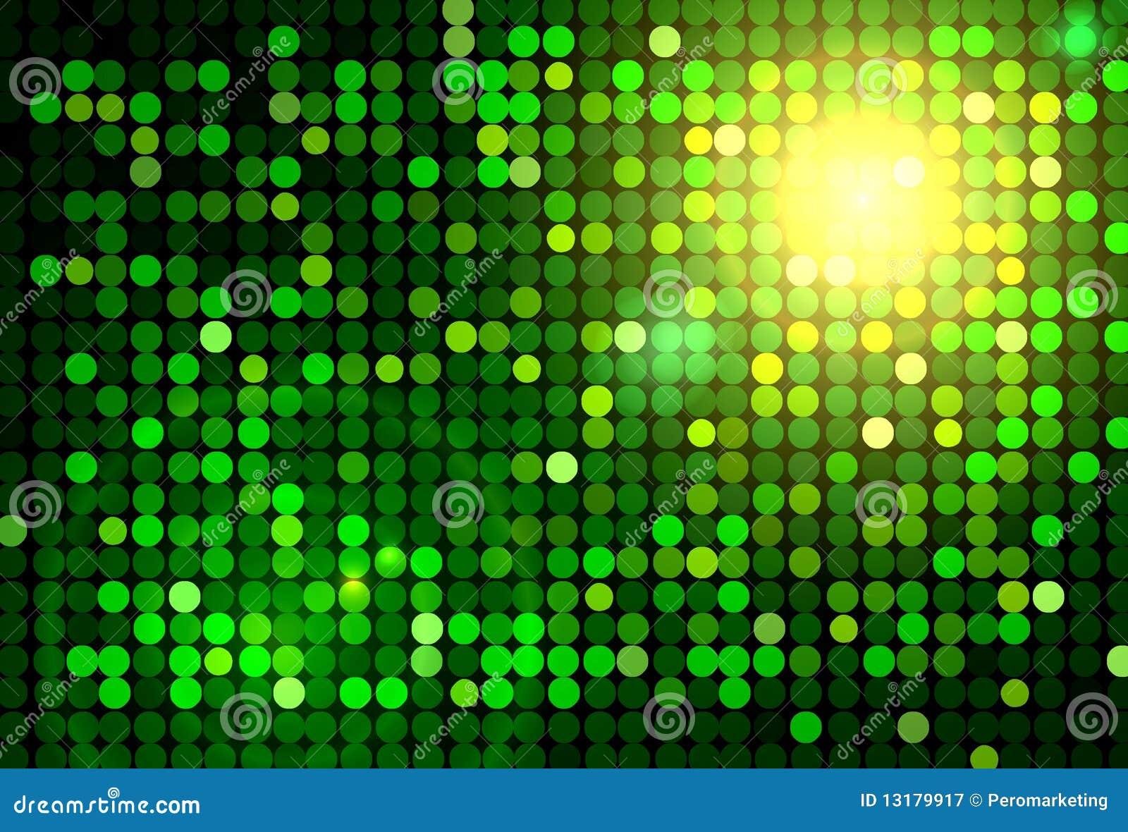 Disco ανασκόπησης πράσινο