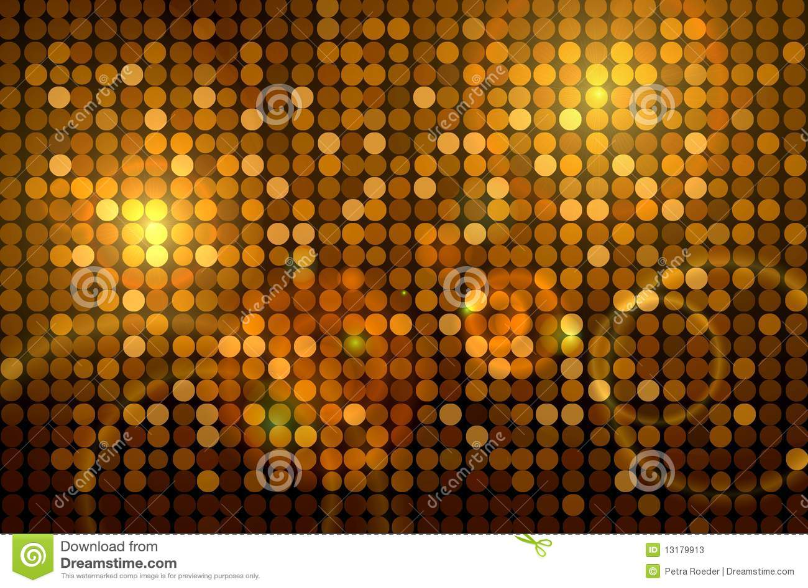 Disco ανασκόπησης χρυσό