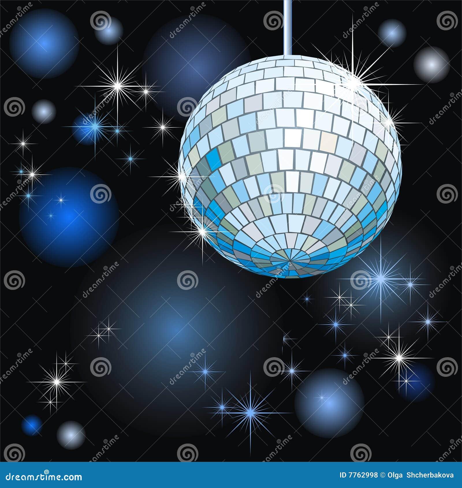 disco bal vector illustratie illustratie bestaande uit avond 7762998